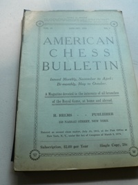 American Chess Bulletin - 1919