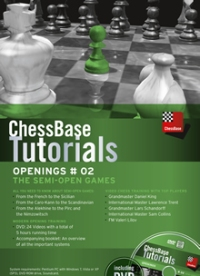 Chess Base Tutorials openings 02. The semi open games