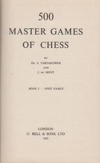 500 Master Games Of Chess 3  тома