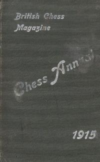 The BCM Chess Annual 1915